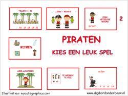 Digibordles Piraten 7 verschillende spelletjes voor groep 2 op digibordonderbouw.nl http://digibordonderbouw.nl/index.php/themas/piraten/piraten/viewcategory/366