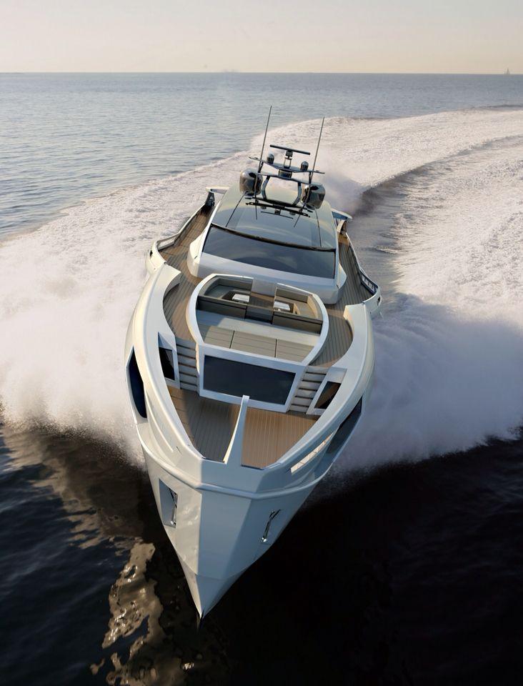 Rossinavi Yacht Longitude 47, design by Fulvio de Simoni