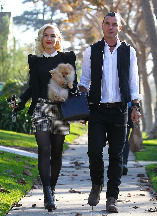 Gwen Stefani And Gavin Rossdale's Thanksgiving
