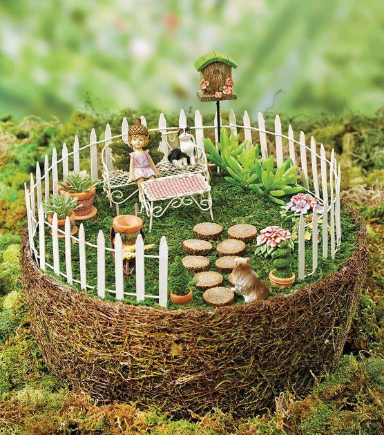 Fairy Garden Patio Fairies Pinterest Fairy Patios And Gardens
