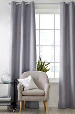 Ellos Home Mørkleggingsgardin Filippa Mellomgrå, Hvit, Lys rosa, Beige, Turkis - Mørkleggingsgardiner | Ellos Mobile