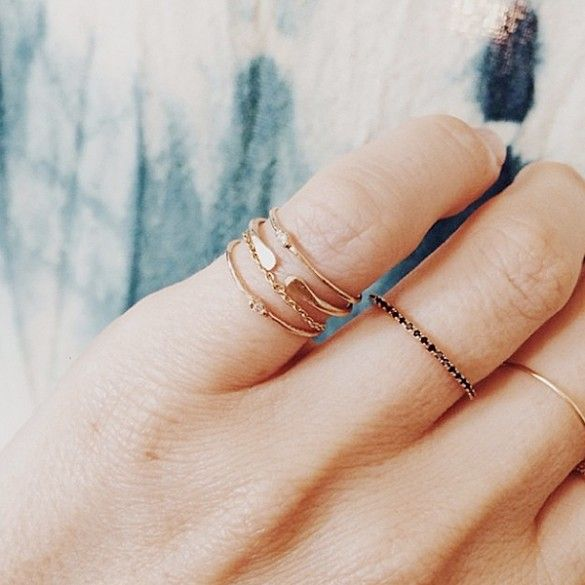 12 Jewelry Brands For Girls With Minimal Style via @WhoWhatWear