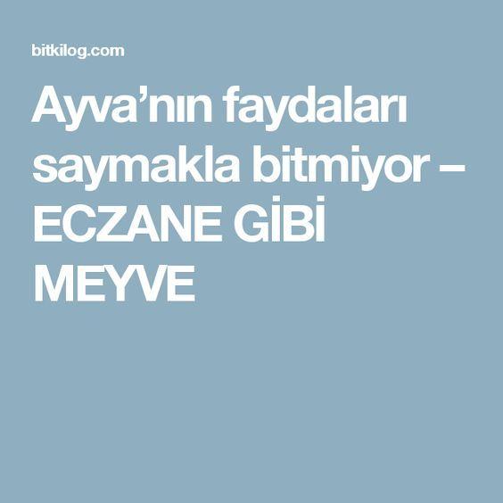 Ayva'nın faydaları saymakla bitmiyor – ECZANE GİBİ MEYVE
