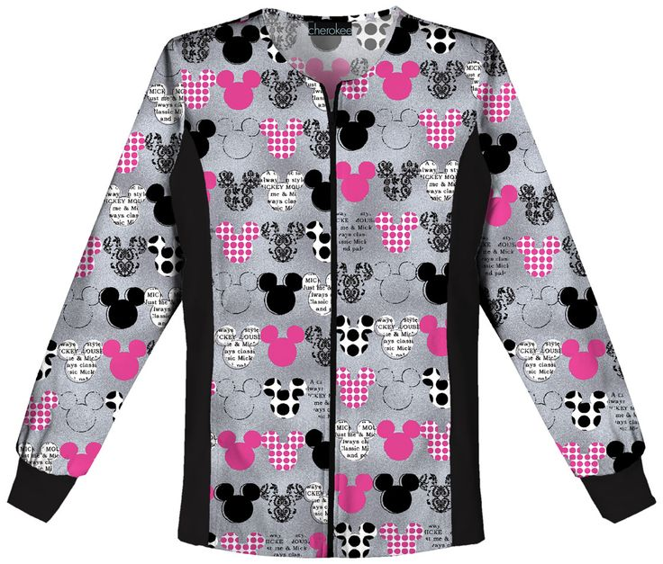 This jacket is full of patterns! Find it at The Uniform Outlet!