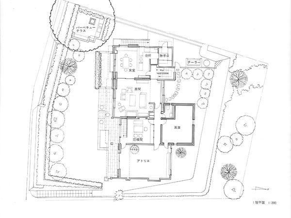 house at nishiyama kyoto 1976 uff5c u4eac u90fd u897f u5c71 u306e u5bb6  u5409 u6751 u9806 u4e09