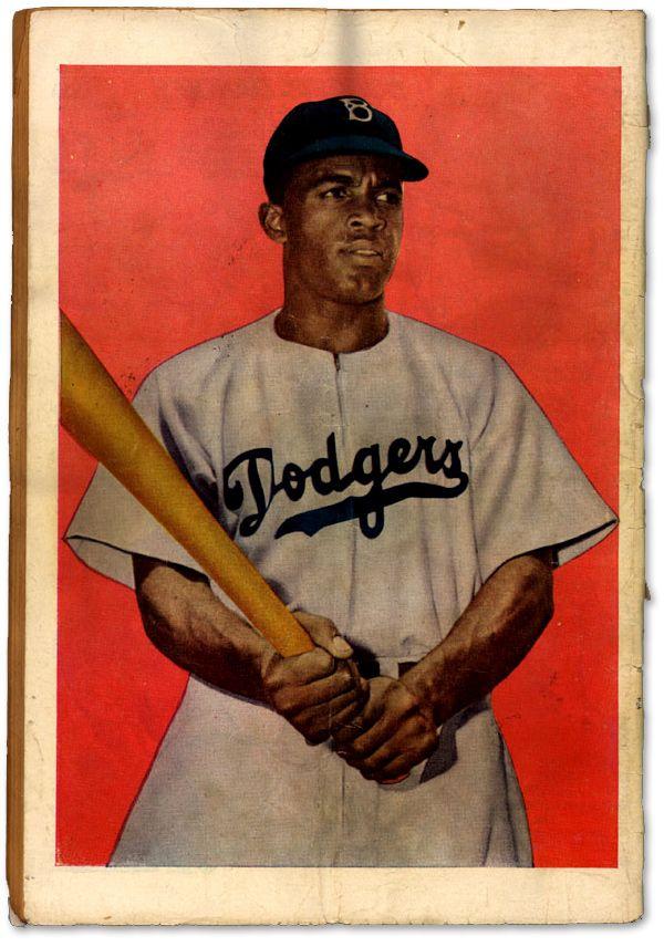 Jackie Robinson Comic Book :: Back Cover: Brooklyn Dodgers, Comic Books, Jackie Robinson, Robinson Comic, Art Posters, Baseb Art, Baseb Portraits, Baseb Players, Baseb Stars