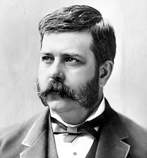 George Westinghouse at an early age in 1884