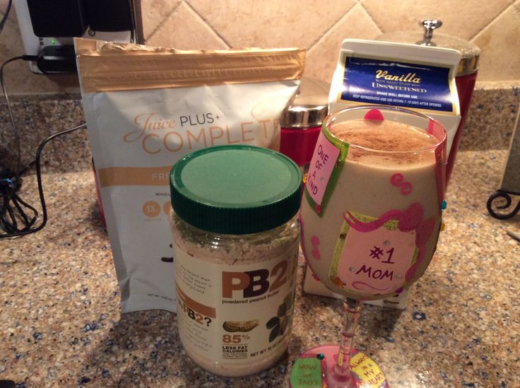 Pumpkin Pie Smoothie = YUM!! 12 oz. unsweetened almond milk, 1 scoop Juice Plus French vanilla complete, 2 T PB2, 1/2 frozen banana, and 1/2 t. Pumpkin pie spice. Sprinkle cinnamon on top and enjoy for a guilt-free holiday treat. www.mhurley.transform30.com