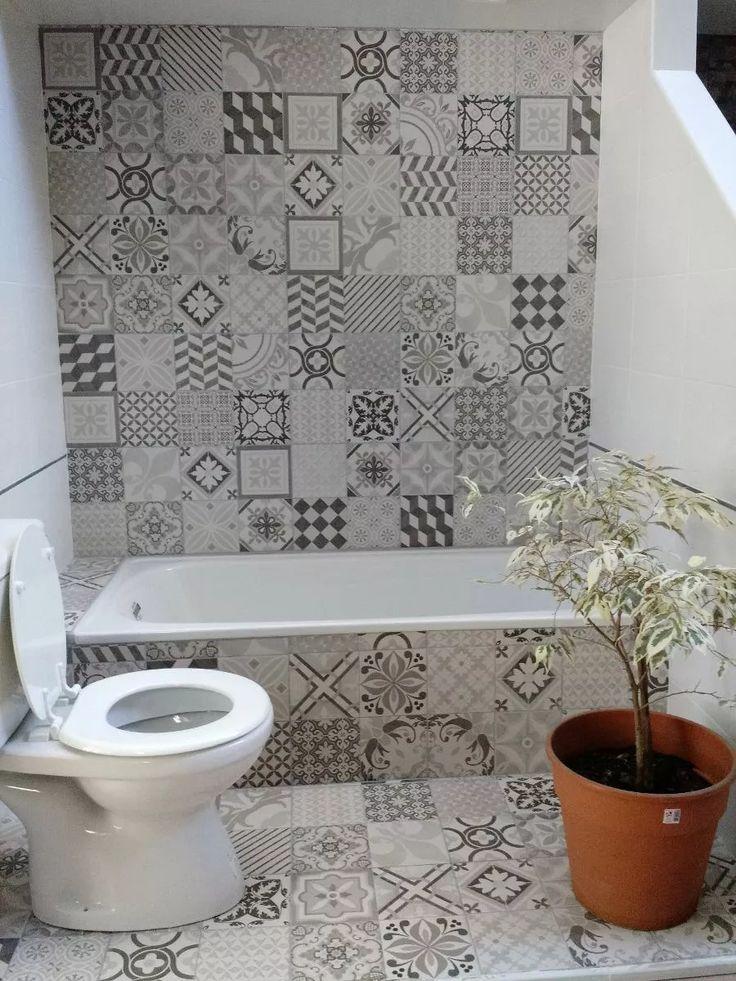 Cermica Lourdes Mix Calcreo 35x35 Pisopared Revestimiento Castle In 2019 Bathroom Bath