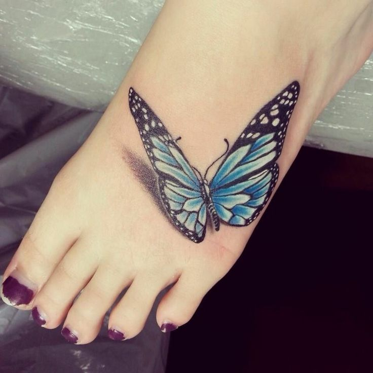 Watercolor Tattoo Butterfly: 22 super modern and great design ideas