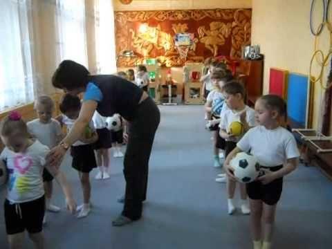 Утренняя гимнастика в детском саду
