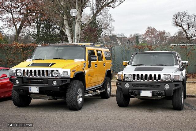 Hummer H2 vs Hummer H3