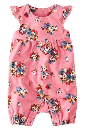 Mini Boden Corduroy Romper (Baby Girls) | Nordstrom IN LOVE with this print