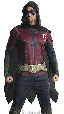 Arkham city robin superhero #adults mens batman #fancy #dress costume 884821,  View more on the LINK: http://www.zeppy.io/product/gb/2/141775512921/