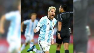 Messi Arjantin'e golle döndü: 2018 Dünya Kupası Güney Amerika Elemelerinde Arjantin Lionel Messinin attığı gol ile Uruguay'ı 1-0 mağlup etti.
