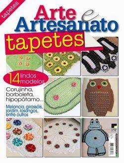 """""""VIRTUOSAS E TALENTOSAS"""": Já nas bancas, mais uma revista com meus Tapetes"""