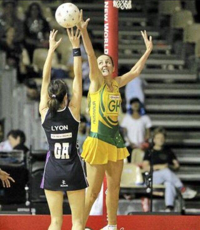 Liz Ellis in action