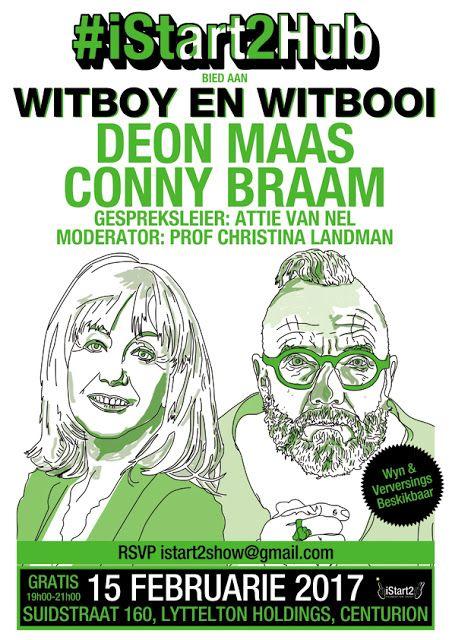 iStart2 Blog : Witboy en Witbooi ... Deon Maas en Conny Braam