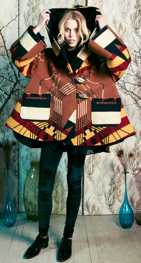 Buell cloak, Pendleton by Lindsey Thornburg
