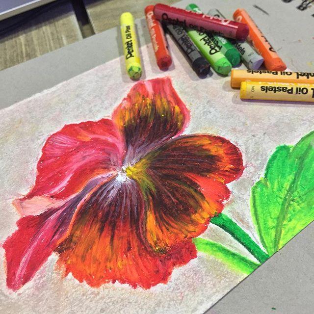 #oilpastels #pastels #pastel #flowerpainting #flowerdrawing  first try. #arts_help #arts_gallery #art_spotlight #arts_gallery #arts_help #art_spotlight #art_worldy #instartlovers #artcomplex #inspiretheartists