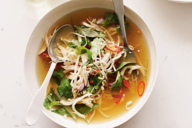 Hot and sour chicken broth main image