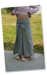 pantalon thai  rabats côté