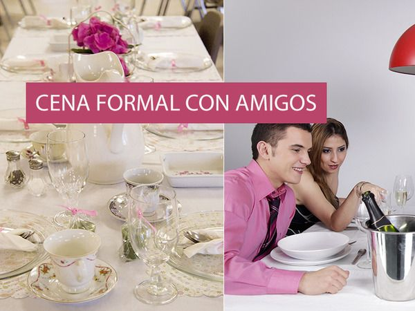 El #protocolo para una #cena #formal con amigos por Ricardo Domínguez, especialista en etiqueta y estilo