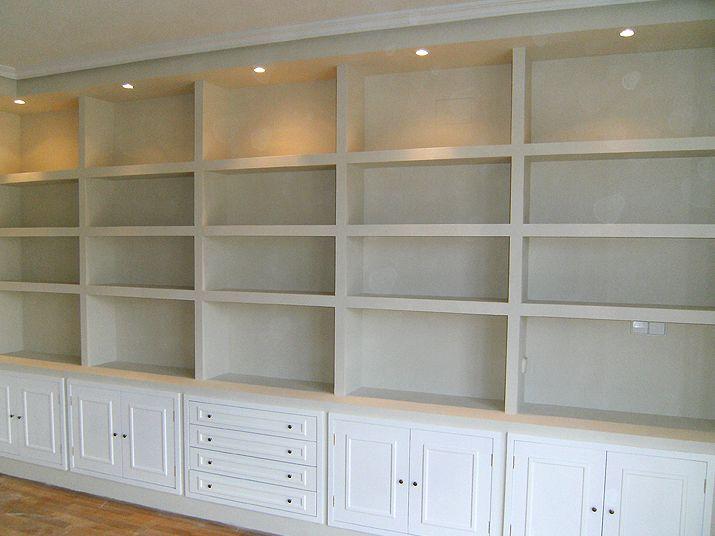 Muebles de escayola salon buscar con google muebles pladur pinterest salones - Muebles de escayola ...