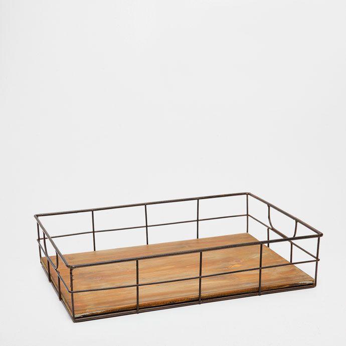 METAL BARS TRAY - Trays - Tableware | Zara Home United States of America