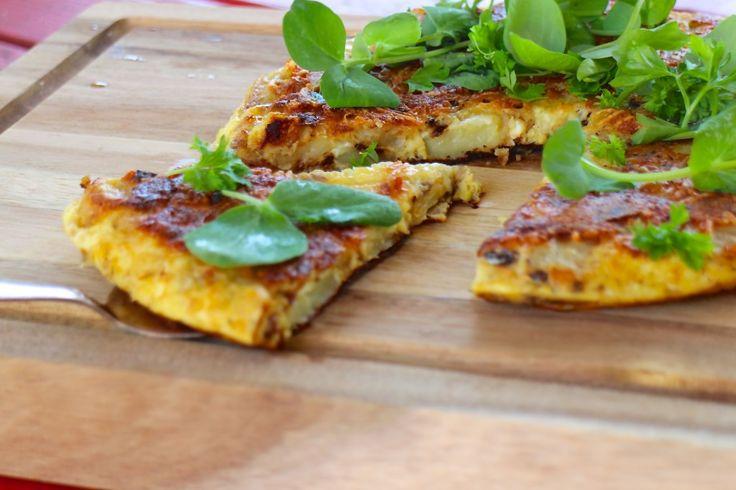 Spansk kartoffeltortilla – nem, lækker og vegetarisk mad