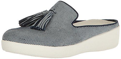 491a0cf94ebc FitFlop Womens Houndstooth Print Superskate Slip-On Loafer Midnight Navy 6  M  fashion  clothing  shoes  accessories  womensshoes  flats (ebay link)