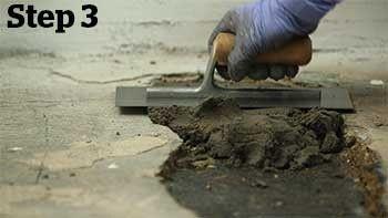 Concrex® Epoxy Resin Mortar – Concrete Hole Repair