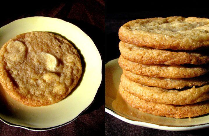 Biscuits au chocolat blanc et citron » Rose Madeleine
