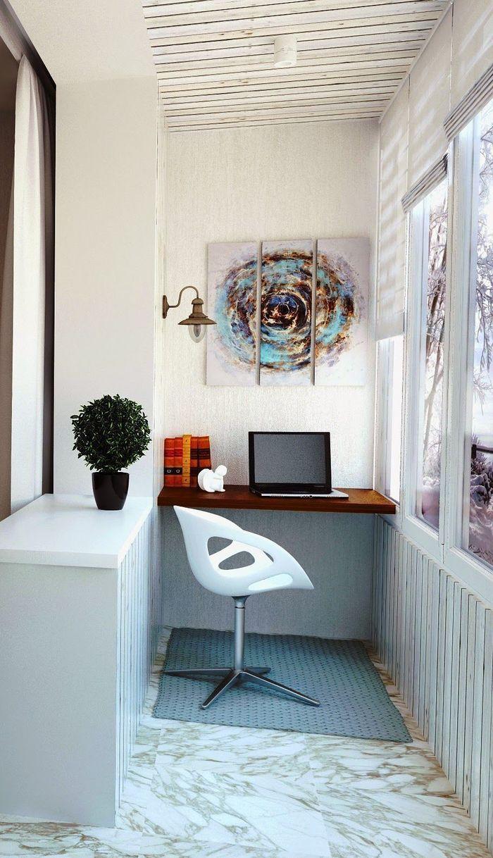 Возможности лоджии: кабинет и спальня – Полезные советы