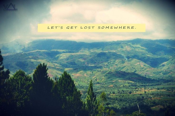 Getting Lost And Finding Yourself