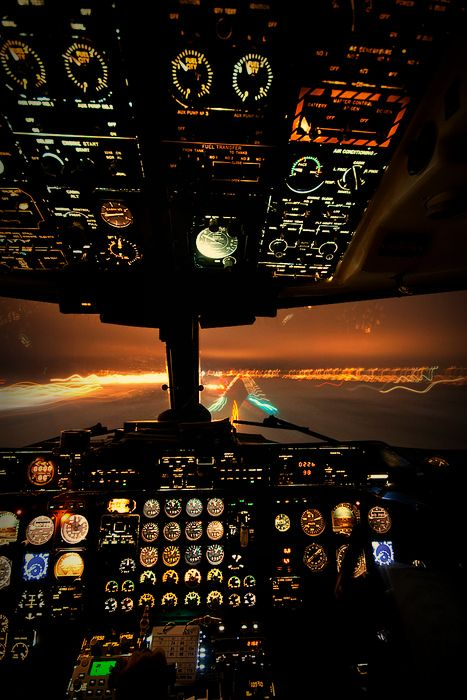 At night #Cockpit