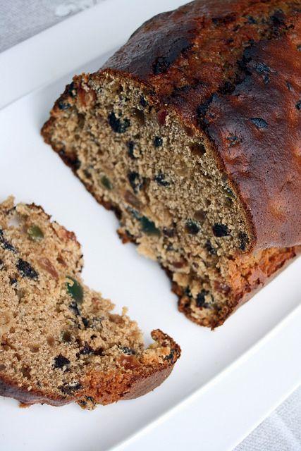 Bara brith teabread  http://www.chezbeckyetliz.com/2014/02/bara-brith-teabread-welsh-fruit-cake.html