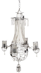 Delicious wire chandeliers made by hand! LOVE IT.: Wire Chandeliers, Delicious Wire