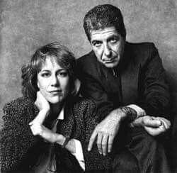 Leonard Cohen and Jennifer Warnes.