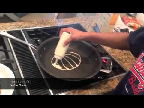 Pancake Art - How to make fun art for breakfast