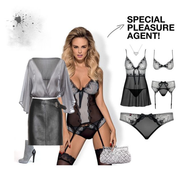 SPECIAL PLEASURE AGENT! by lussuria on Polyvore featuring moda, Yves Saint Laurent and Posh Girl