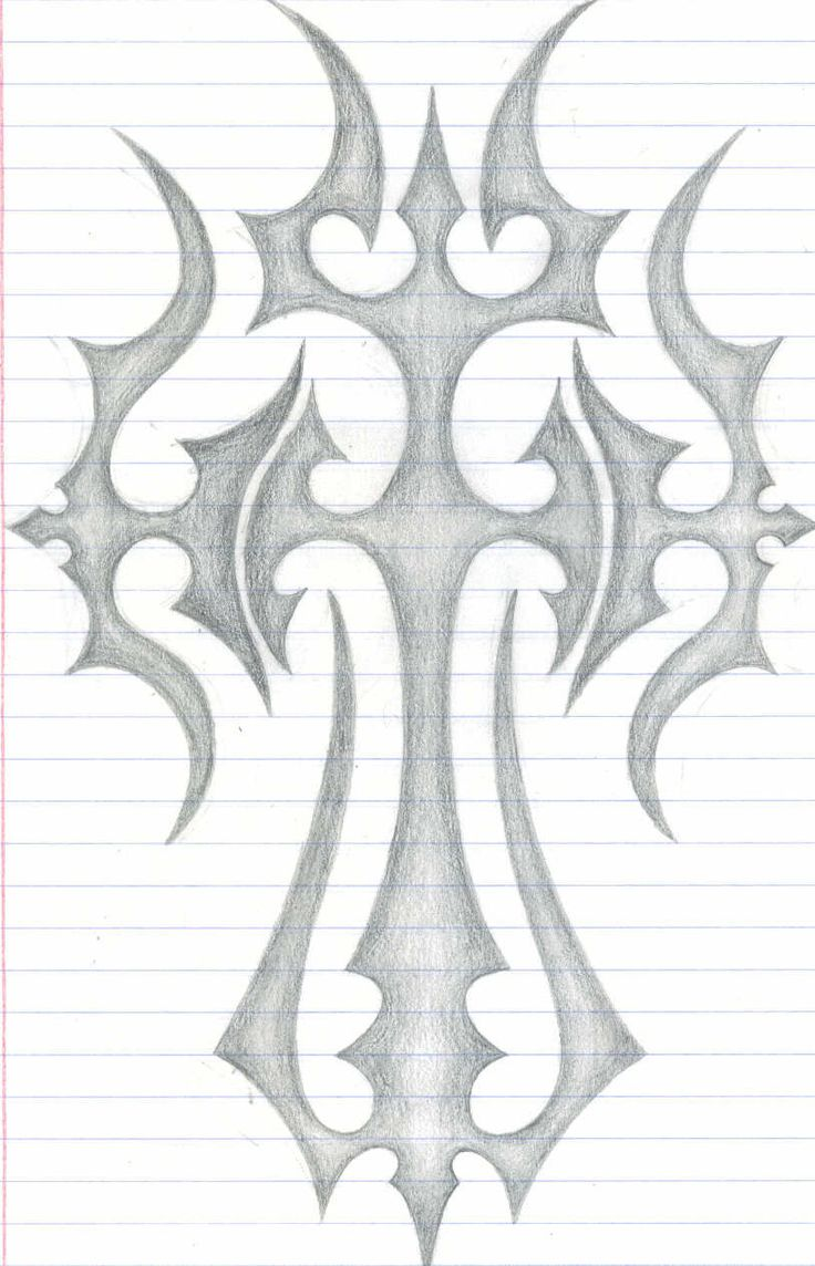 this is a design inspired by the cross....i hope u like it....i had a great time drawing this design....expect more designs from me