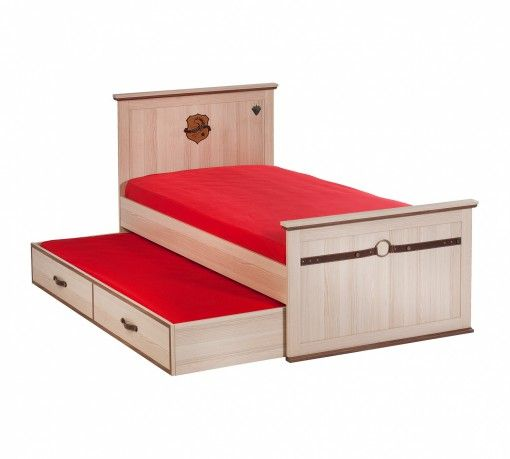 Royal 120-as Ágy #gyerekbútor #bútor #desing #ifjúságibútor #cilekmagyarország #dekoráció #lakberendezés #termék #ágy #gyerekágy #royal #lovas #ló #horse