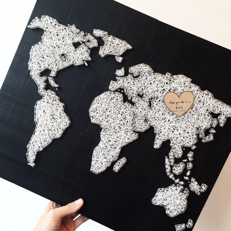 World map, loveeeeee it! ❤️