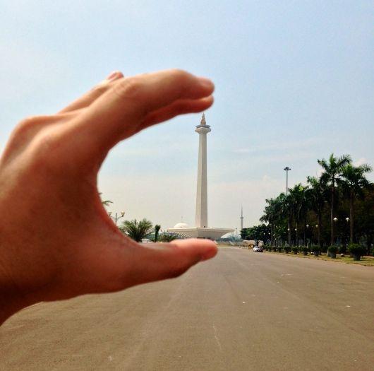 Tugu Monas (Monumen Nasional) - Jakarta