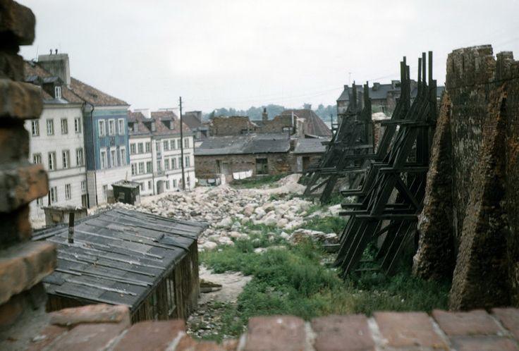 Варшава 1958 года: от руин к возрождению / Warszawa 1958 w kolorze - История и современность