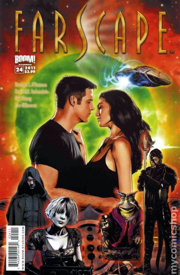 Farscape (2009 Boom Studios Ongoing) 24 Comic book covers