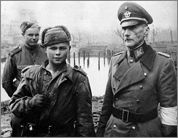 A Russian soldier and General of the Wehrmacht, who surrendered in captivity.