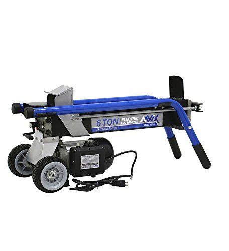AAVIX AGT306 Electric Log Splitter, 6 Tons > Reliable 2HP motor , 6 Ton, 15 Amps. Won't running out of gas and starts every time Hydraulic, and Portable Electric Log Splitter, hydraulic fluid capacity: 2.8 qtrs. Log Cutting Capacity: up to 20-1/2-inch in Length and 10-inch in Diameter Check more at http://farmgardensuperstore.com/product/aavix-agt306-electric-log-splitter-6-tons/