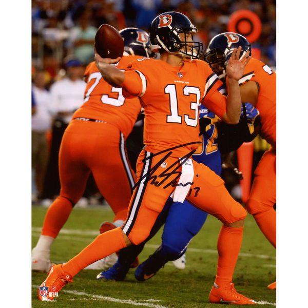 """Trevor Siemian Denver Broncos Fanatics Authentic Autographed 8"""" x 10"""" Color Rush Photograph - $69.99"""